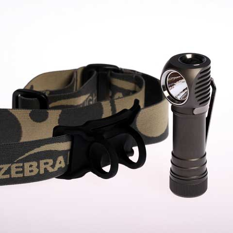 ZebraLight H52w AA Headlamp Neutral White
