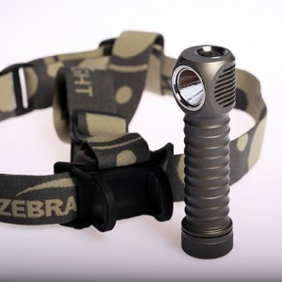 ZebraLight H600w Mk II 18650 XM-L2 Headlamp Neutral White